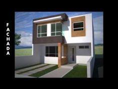 Como dise ar una casa de 7x15 mts de terreno ideas para for Casa moderna 7x15