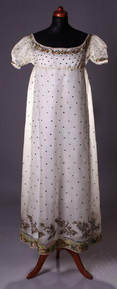 Regency dress 1810