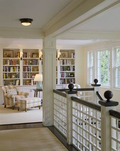 landing/den/library/bookcases