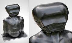 Emil Alzamora's Distorted Human Figures Appear to Melt, Morph, and Defy Gravity