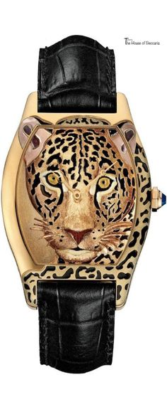 ~Cartier Leopard Watch | House of Beccaria