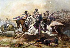 Charge of Poznań Cavalery during November Uprising - Lancer - Wikipedia, the free encyclopedia