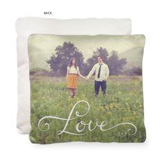 Hand-Lettered Love Pillow   Custom Pillows   Home Decor   Shutterfly