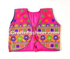 Indian Hippy Tribal Handmade Banjara Boho koti-Cotton Womens Koti Banjara Jacket
