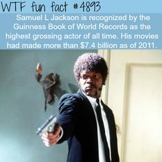 samuel l jackson wtf fun facts Wtf Fun Facts, True Facts, Funny Facts, Random Facts, Odd Facts, Strange Facts, The More You Know, Did You Know, Weird But True