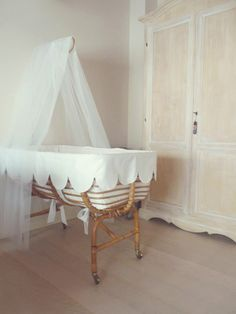 Very Sweet. . . Now I wish I would have kept my antique basinet for my daughter to use