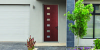 Photo Gallery | Therma-Tru Doors Exterior Doors, Photo Galleries, Outdoor Structures, Gallery, Plants, External Doors, Exterior Front Doors, Entrance Doors, Planters
