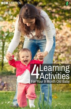 4 Learning Activities For Your 9 Month Old Baby