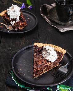 Chocolate Pecan Pie | Isa Chandra Moskowitz