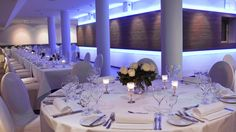 Add Some Variety with Your Tables - 15 Tricks to Decorate a Large Hall for Your Wedding - EverAfterGuide