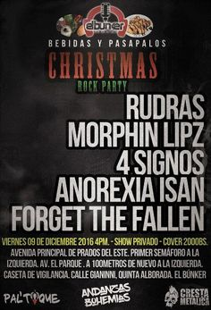 Christmas Rock Party http://crestametalica.com/events/christmas-rock-party/ vía @crestametalica
