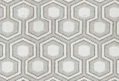Hexagon House Wool Rug, Desert