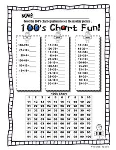 Freebie!  Sassy in Second: 100th Day of School!