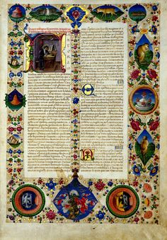Bible of Borso d'Este - World Digital Library - The manuscript was completed between 1455 and 1461