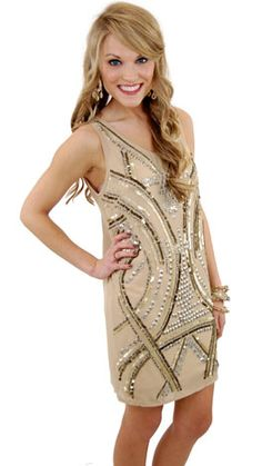 Great Gatsby Dress :: The Blue Door Boutique