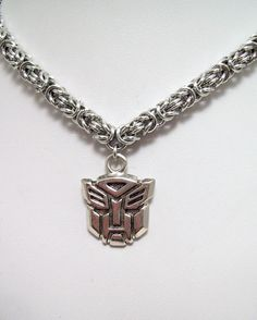mens necklace Transformers necklace by Eternalelfcreations on Etsy, $35.00