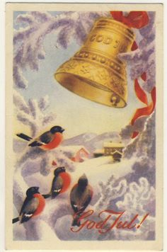 Harald Damsleth Norwegian Christmas, Dom, Vintage Postcards, Decoration, Decoupage, Christmas Cards, Auction, Painting, Vintage Travel Postcards