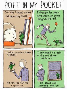 Risultati immagini per poetry comics