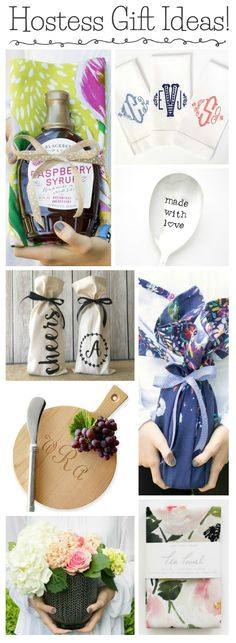LOVE these simple hostess gift ideas! I'm stocking up before the holidays!