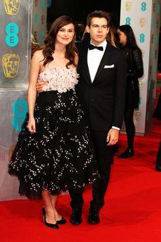 BAFTAs 2015 red carpet | Keira Knightley and James Righton