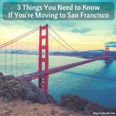 If you're considering a move to the beautiful city of San Francisco, here are some tips. Take these into consideration as you apartment search!