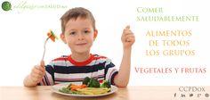 Enseña a tus #niños a comer saludablemente, incluye en sus comidas alimentos de todos los grupos, y garantiza la ingesta de vegetales y frutas. Reduce el consumo de azúcares y alimentos procesados.