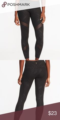 586ebed7a6224b Old Navy NWT Compression Leggings Brand new with tags Product Details  Elasticized waistband with small interior