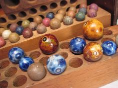 Antique Marbles Lot of Bennington and Clay by preciousplaytime, $48.00