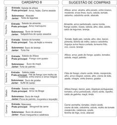 Agenda de Casa: Cardápio da Semana 23 a 29 de abril