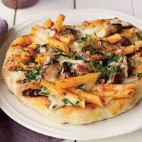 Penne alla Vodka and Grilled Chicken Pizza - Not-so-Ordinary Pizza Recipes curated by SavingStar. Get free grocery coupons at savingstar.com