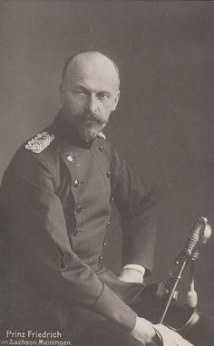 Prince Friedrich de Saxe-Meiningen (1861-1914)