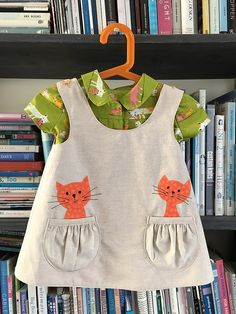 Cat Jumper and blouse | by sfknit