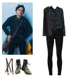 Jughead Jones - Riverdale by shadyannon on Polyvore featuring polyvore fashion style Beach Lunch Lounge UGG Frame clothing