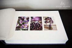 Queensberry Overlay Matted Wedding Album | Amethyst Buckram Cover | JulietMcKeePhotography.co.uk | www.queensberry.com