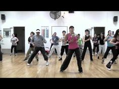 """Dance Again"" (J-Lo & Pitbull) Zumba routine"