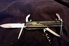 Gettysburg Souvenir Pocket Knife A Swiss Army by EstatesInTime