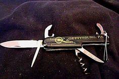 Gettysburg Souvenir Pocket Knife A Swiss Army by EstatesInTime