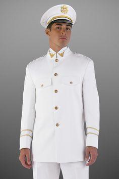 White Cadet Slim Fit