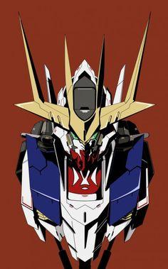 Gundamtekketsu - najlepsze znaleziska i wpisy o #gundamtekketsu w Wykop.pl Gundam Head, Gundam Wing, Gundam Art, Barbatos Lupus Rex, Blood Orphans, Gundam Iron Blooded Orphans, Gundam Wallpapers, Gundam Mobile Suit, Mecha Anime