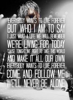 Live Forever, Hollywood Undead