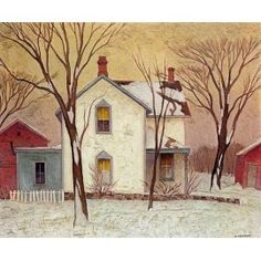 Casson, Farm House, Canadian Group of Seven Emily Carr, Group Of Seven Artists, Group Of Seven Paintings, Canadian Painters, Canadian Artists, Tom Thomson Paintings, Ontario, Eagle Art, National Art