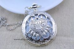 Majora's Mask pocket watch http://www.etsy.com/au/listing/177126126/majoras-mask-owl-pocket-watch-necklace
