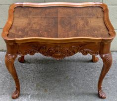 The Craftsman: A Serving Table Gleams