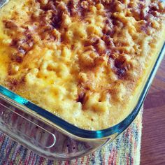 Trisha Yearwoods Macaroni and Cheese - This homemade macaroni and cheese is so good and only requires a few ingredients. I made it for our Thanksgiving feast and everyone loved it. I made it exactly as the recipe said and I wouldn't change a thing. Cheese Dishes, Pasta Dishes, Food Dishes, Side Dishes, Main Dishes, Macaroni N Cheese Recipe, Cheese Recipes, Mac Cheese, Baked Macaroni