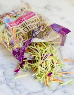 8 Ways I Turn Broccoli Slaw Into Quick Healthy Meals- 7 Ways I Turn Broccoli.- 8 Ways I Turn Broccoli Slaw Into Quick Healthy Meals- 7 Ways I Turn Broccoli Slaw Into Quick Healthy Meals — Loving Food While Losing Weight Quick Healthy Meals, Healthy Options, Healthy Snacks, Healthy Eating, Healthy Recipes, Clean Eating, Vegan Meals, Easy Meals, Clean Recipes