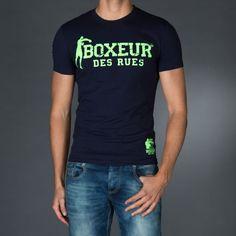 BOXEUR DES RUES Fight Activewear Shorts para Artes Marciales Mixtas MMA Logo y dise/ño de Corazones