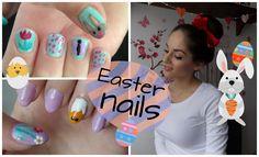 Tutorial: Velikonoční nehty / Easter nails
