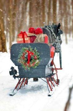 / christmas sleigh ride /