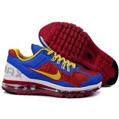 new styles 39950 a298a Nike Air Max 2013 Men Red Yellow Blue