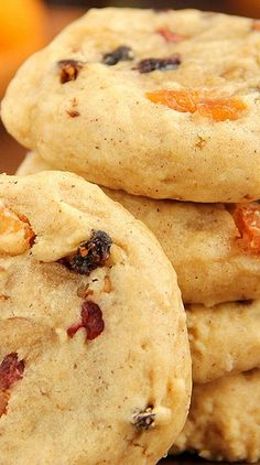 Fruitcake Cookies maybe add frosting to them like a traditional fruitcake